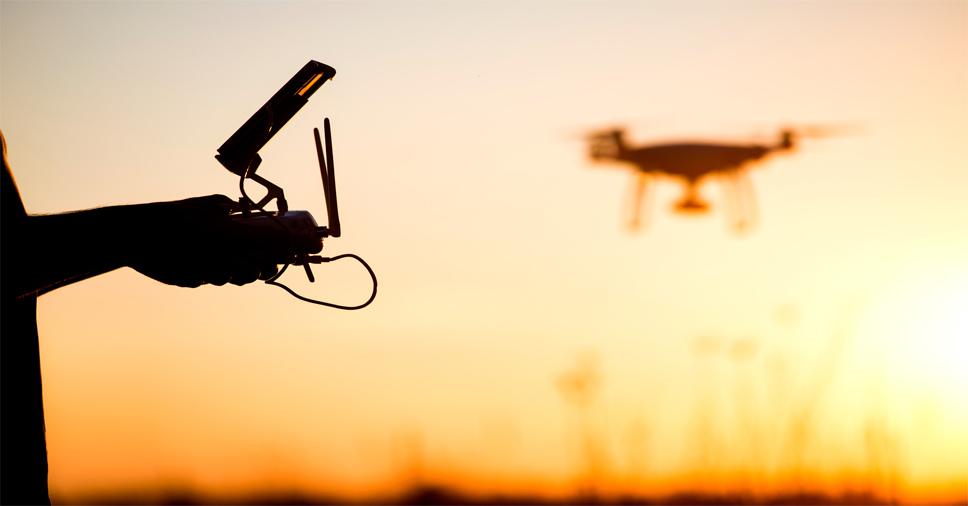 história dos drones