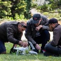 Aula prática de manutenção de drone ITARC