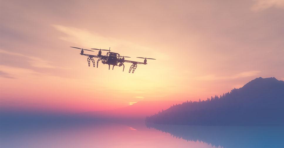 vantagens dos drones