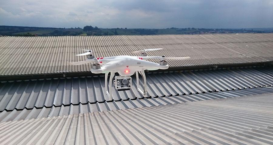 quatro vantagens dos drones usadas em indústrias