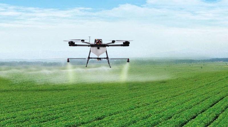 uso de drones na agricultura: como funciona