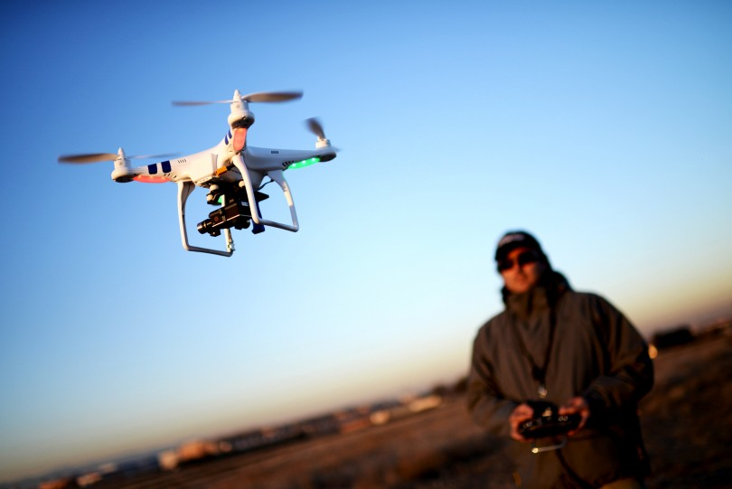 uso do primeiro drone