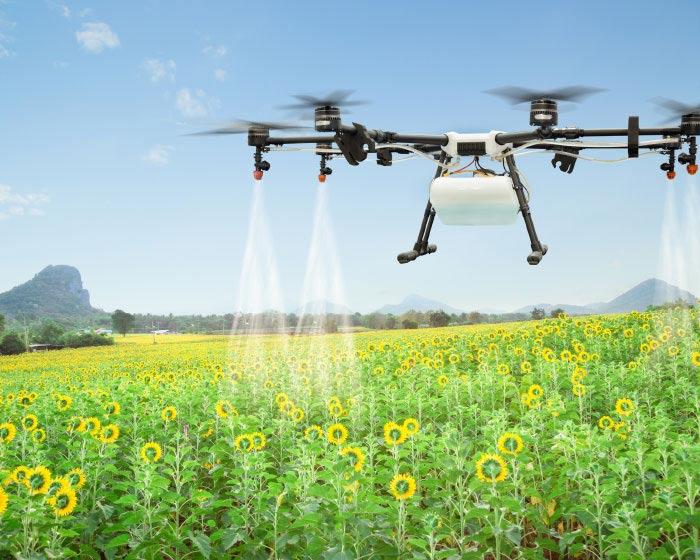 uso de drones na agricultura: benefícios