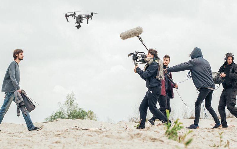 Os drones e a indústria cinematográfica