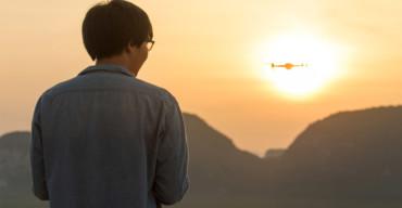 pilotar um drone