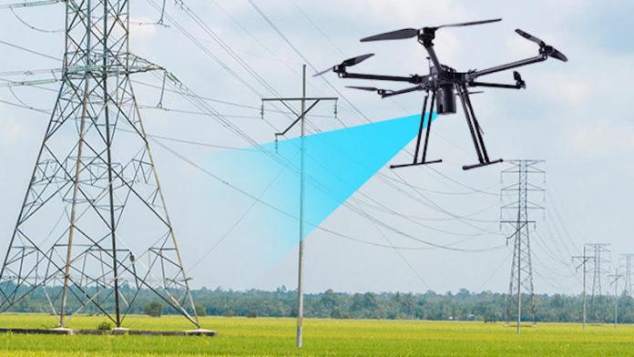 magnetismo ao pilotar um drone