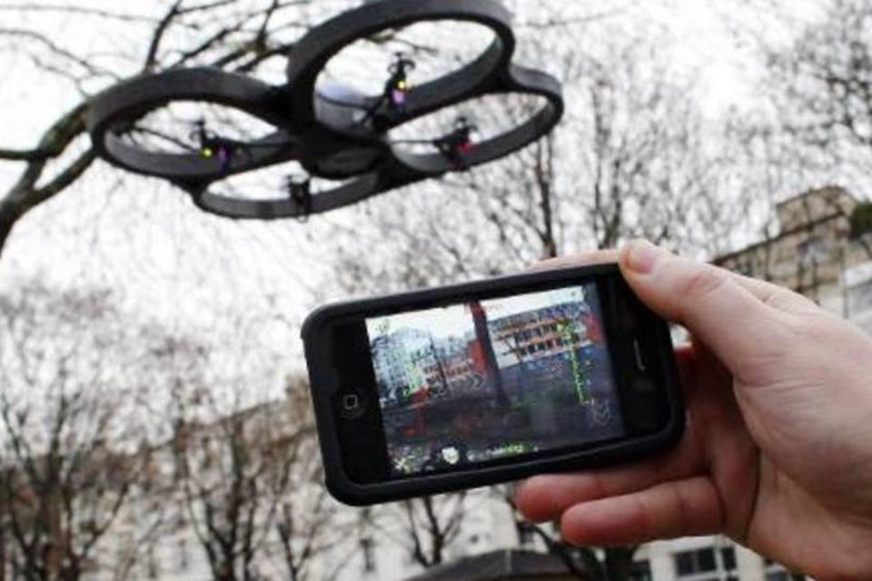 controlar drone pelo celular