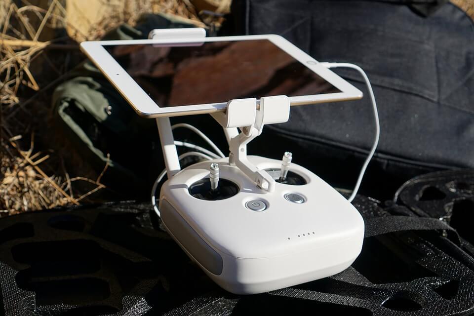 acessórios para drones: suporte de rotação