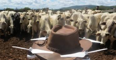 tecnologia do uso de drones na pecuária