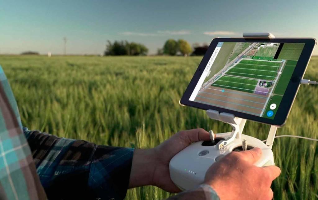 aprendendo sobre uso de drones na pecuária