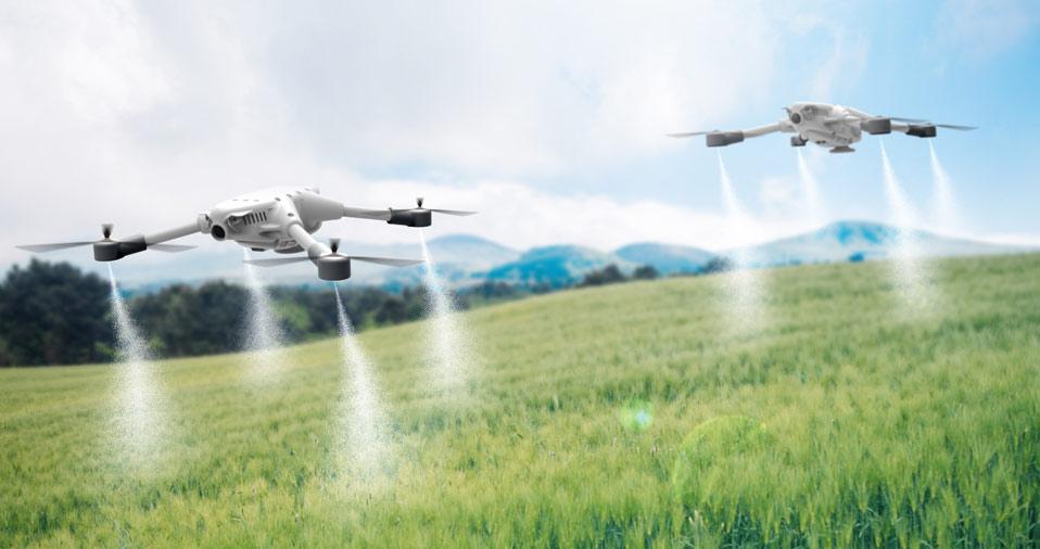 utilidades do drone
