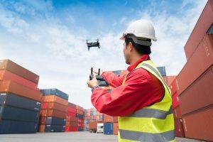 manutenção de drones na hora do voo
