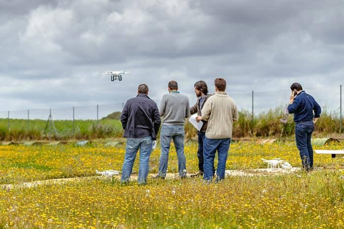Local para praticas as dicas de pilotagem de drones