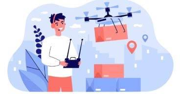 delivery com drone