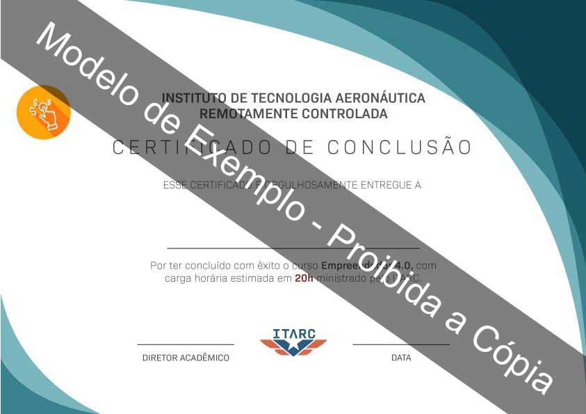 certificado empreendedor