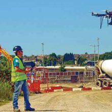 como usar drones na engenharia civil